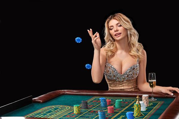 美女とギャンブル